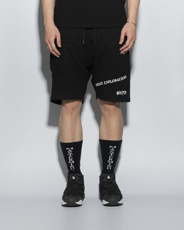 UT054BK | URBANEXPL KITTED SHORTS