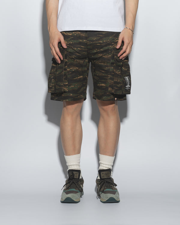 SG00T1 | DOUBLE FIRE ARMY SHORTS