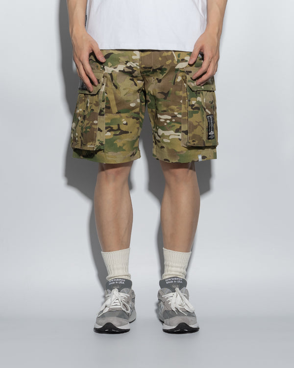 SG00MC | DOUBLE FIRE ARMY SHORTS