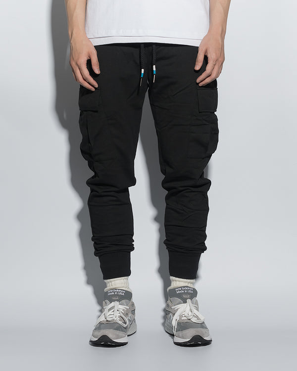 UT010BK | SKINNY SWEAT JOGGERS - 2P-JOGGERS-UNTOUCHED UNITED