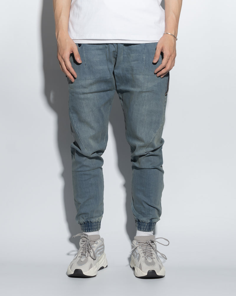 UT029XNY | WASHED DENIM JOGGERS
