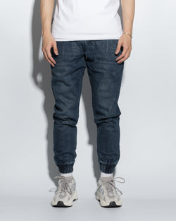 UT029NY | WASHED DENIM JOGGERS