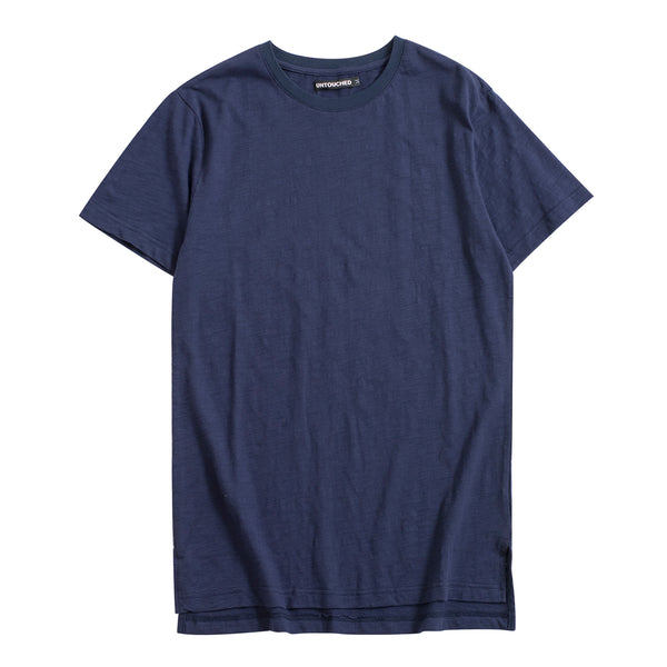 UT051NY | BASIC LONG TEE-TEE-UNTOUCHED UNITED