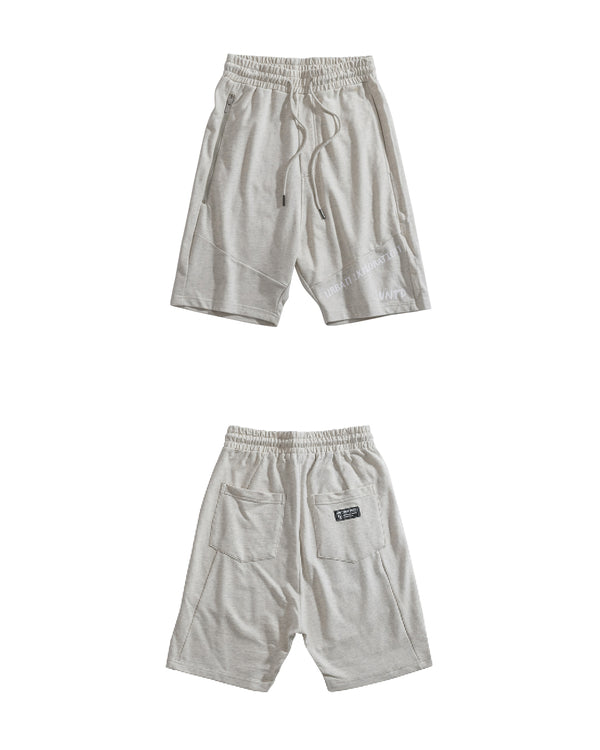 UT054GY | URBANEXPL KITTED SHORTS-SHORTS-UNTOUCHED UNITED