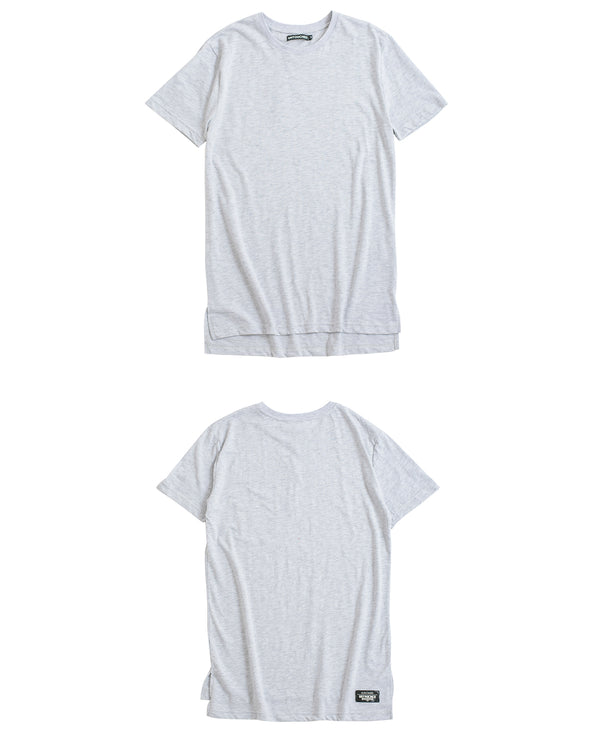 UT051GY | BASIC LONG TEE-TEE-UNTOUCHED UNITED