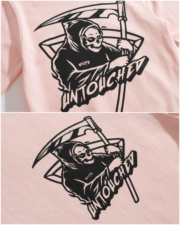 HD101PK | GRIM REAPER-HOODIES-UNTOUCHED UNITED