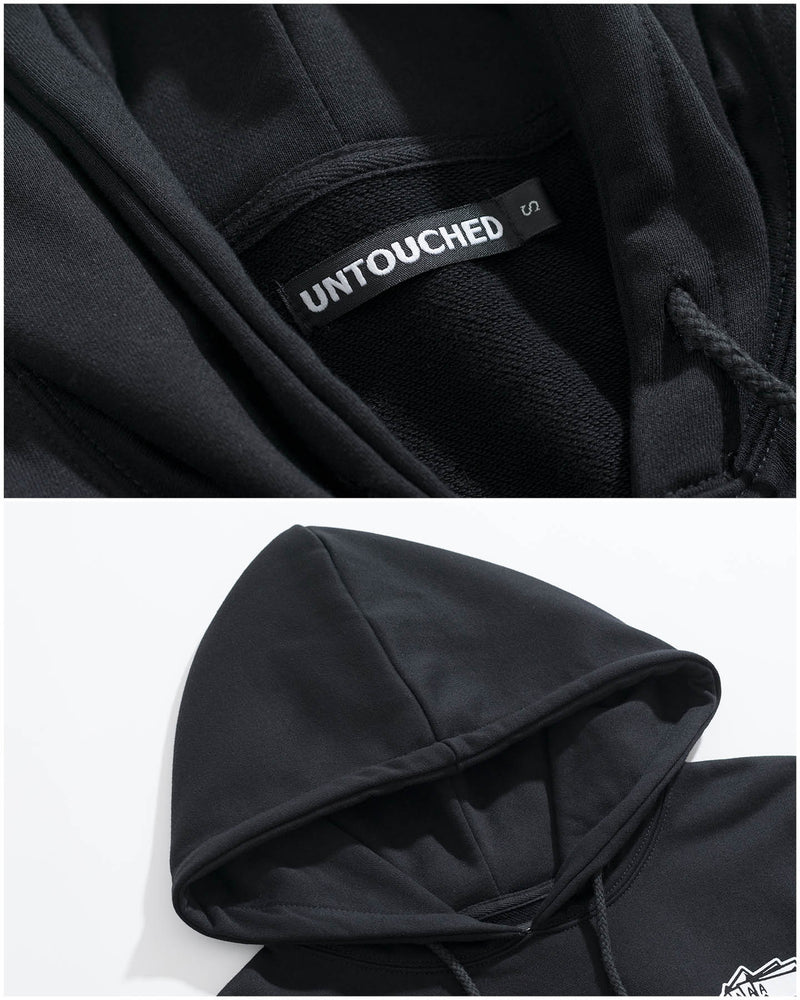 HD102BK | AAAAA-HOODIES-UNTOUCHED UNITED