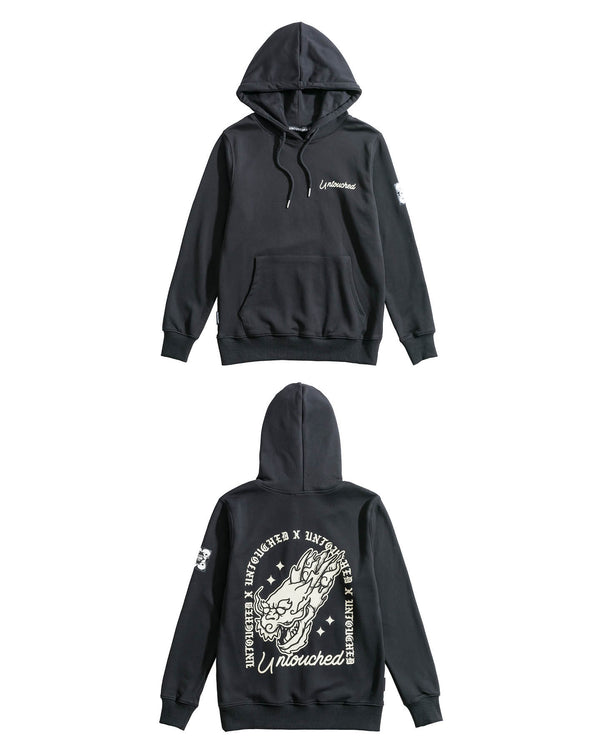 HD1730BK | THE DRAGON | UAG-HOODIES-UNTOUCHED UNITED