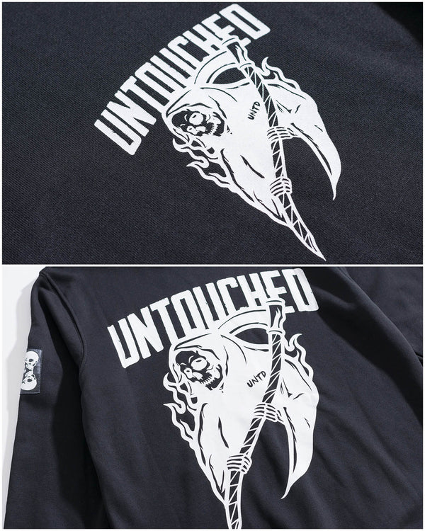 HD1734BK | GRIM REAPER-HOODIES-UNTOUCHED UNITED