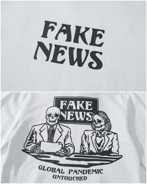 HD2026WH | FAKE NEWS-HOODIES-UNTOUCHED UNITED