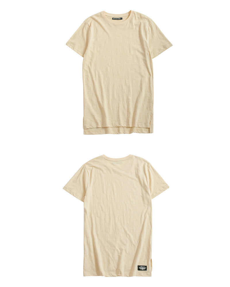 UT051KH | BASIC LONG TEE-TEE-UNTOUCHED UNITED