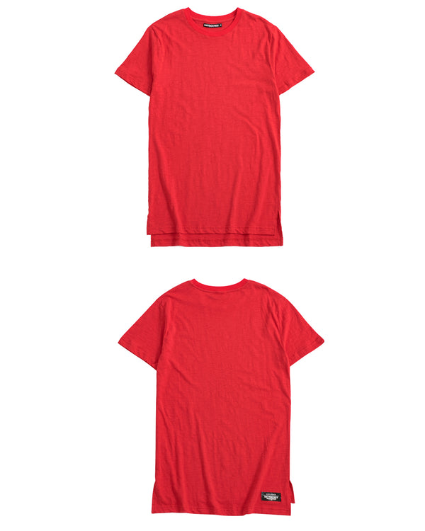 UT051RD | BASIC LONG TEE-TEE-UNTOUCHED UNITED