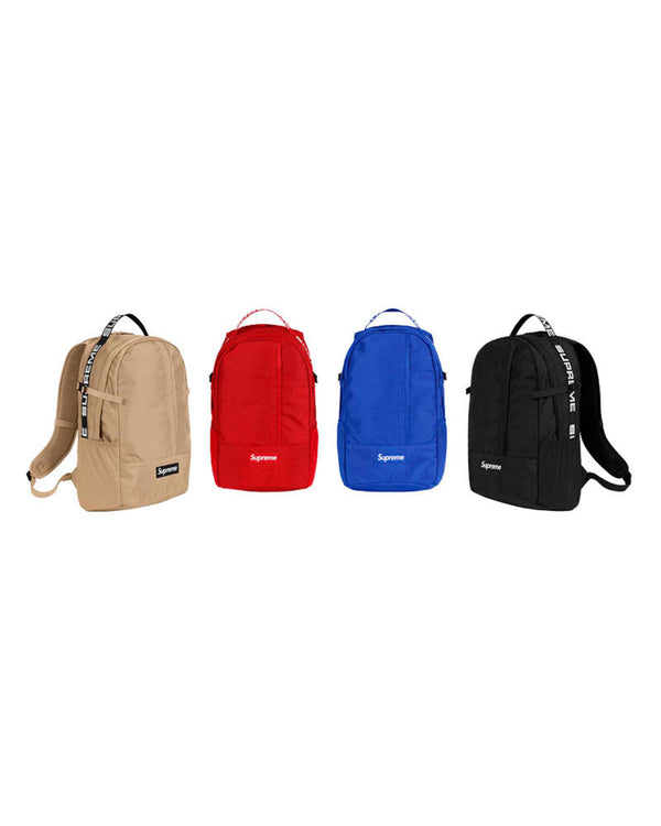 Supreme Backpack (SS18)-BACKPACK-UNTOUCHED UNITED
