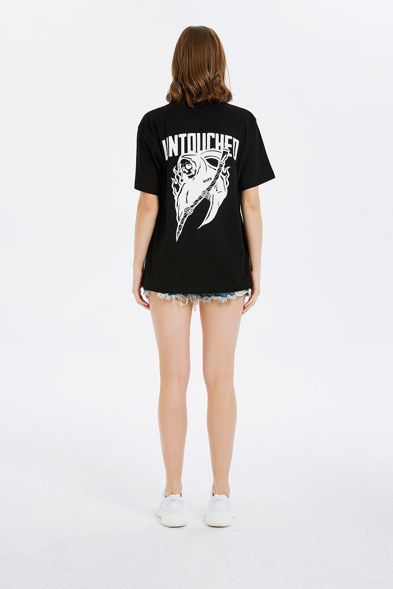T1905BK | GRIM REAPER-TEE-UNTOUCHED UNITED