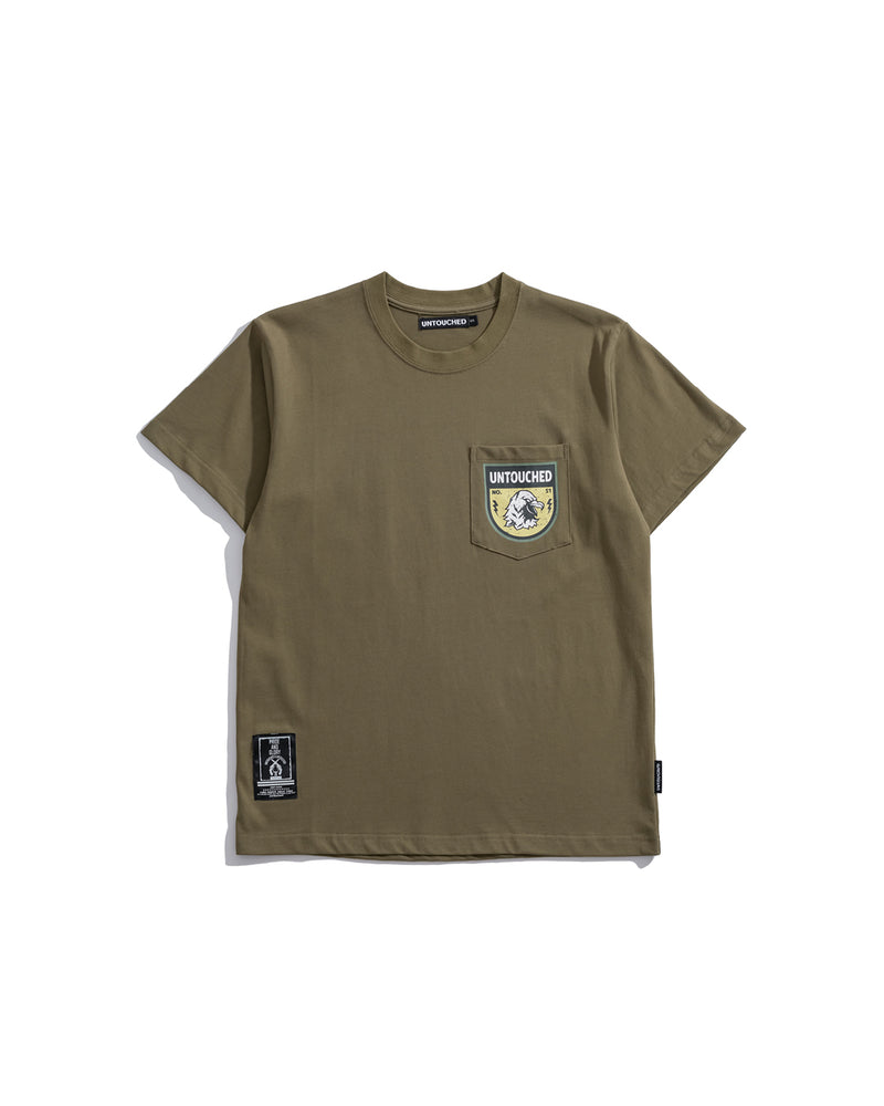 T1913GN | ARMY - THE HAWK-TEE-UNTOUCHED UNITED