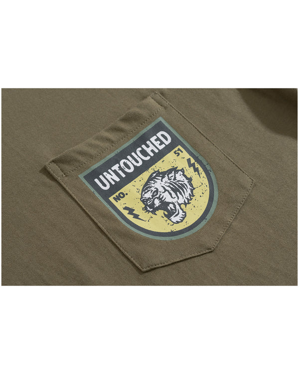 T1914GN | ARMY - THE TIGER-TEE-UNTOUCHED UNITED