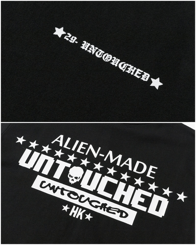 T2004BK | ALIEN MADE-TEE-UNTOUCHED UNITED