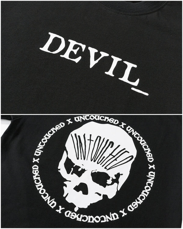 T2005BK | THE DEVIL_-TEE-UNTOUCHED UNITED