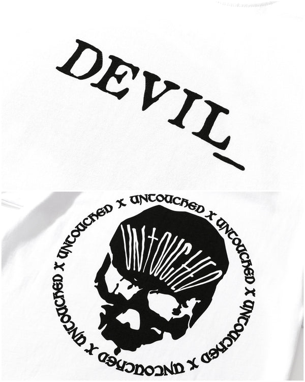T2005WH | THE DEVIL_-TEE-UNTOUCHED UNITED