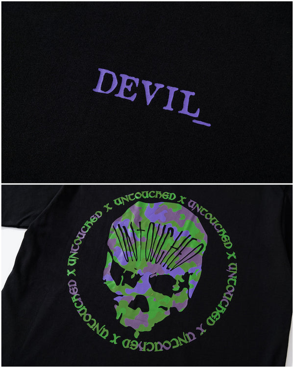 T2009EVA | THE DEVIL_ | SPECIAL EDITION-TEE-UNTOUCHED UNITED