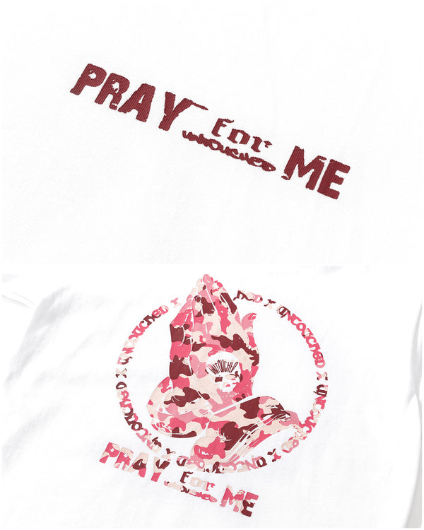 T2010PWH | PRAY FOR ME-TEE-UNTOUCHED UNITED