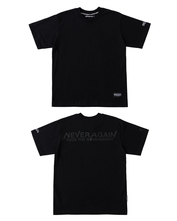 T2013BK | NEVER AGAIN-TEE-UNTOUCHED UNITED
