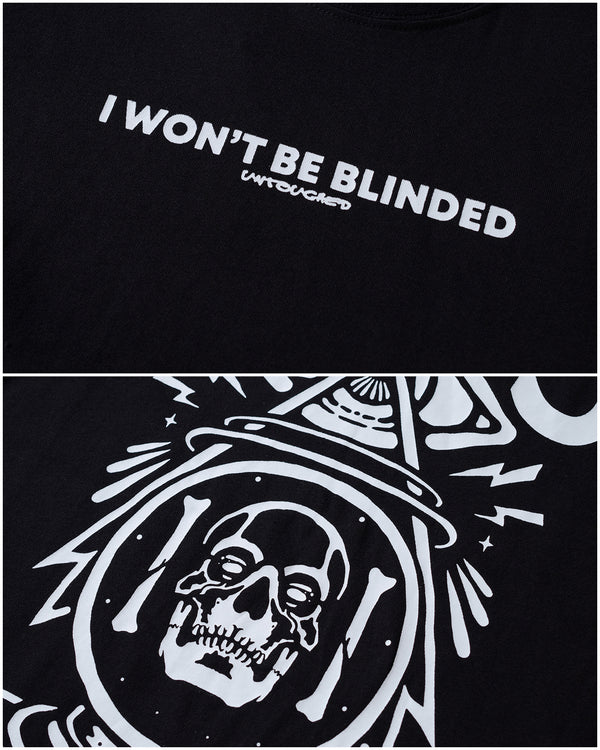 T2014BK | I WON'T BE BLINDED-TEE-UNTOUCHED UNITED