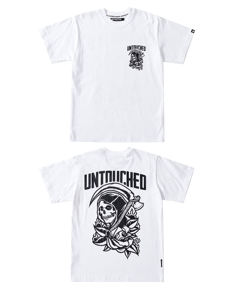T2017WH | GRIM REAPER - ROSE-TEE-UNTOUCHED UNITED