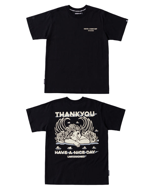 T2020BK | THANK YOU ANGEL-TEE-UNTOUCHED UNITED