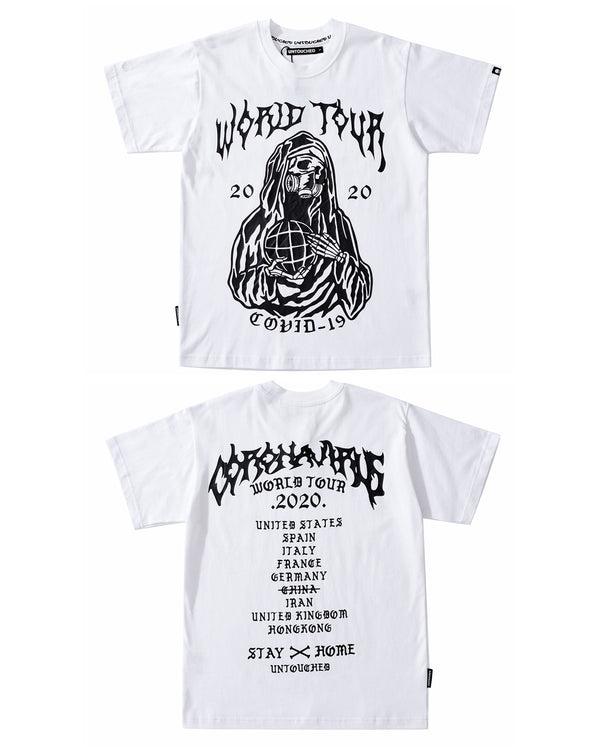T2023WH | GRIM REAPER - WORLD TOUR-TEE-UNTOUCHED UNITED