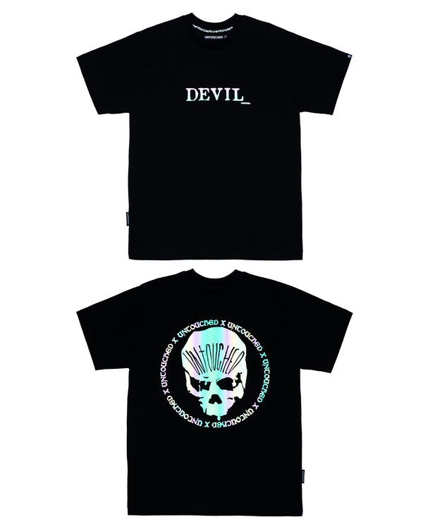 T2027MC | 3MC - THE DEVIL_-TEE-UNTOUCHED UNITED