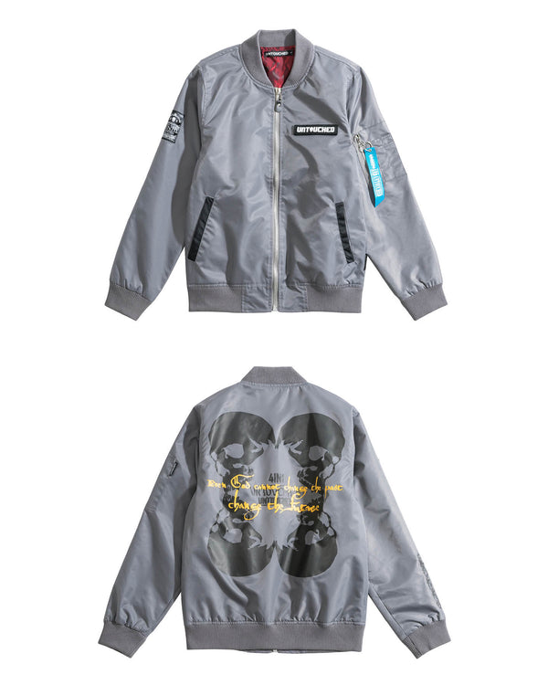 UT062GY | 4IN1 SKULL-JACKET-UNTOUCHED UNITED