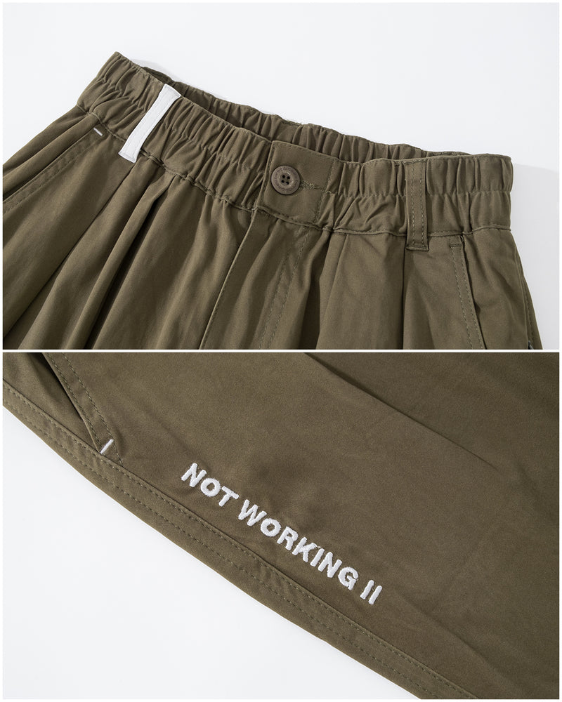 UT088v2GN | NOT WORKING WORKER PANTS v2