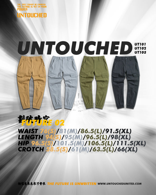 UT102GY | FUTURE 02 | SPECIAL EDITION-JOGGERS-UNTOUCHED UNITED