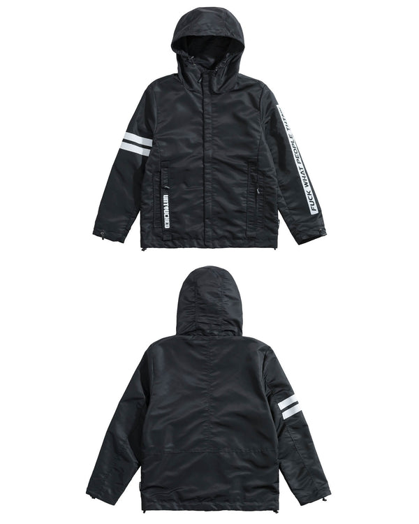 UT104BK | FUCK WHAT PEOPLE THINK-JACKET-UNTOUCHED UNITED