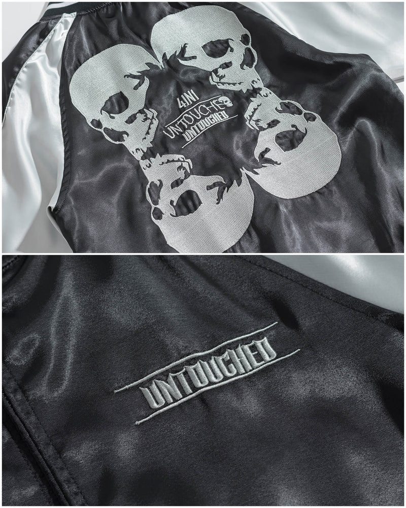 UT108BK | 4IN1 SKULL-JACKET-UNTOUCHED UNITED