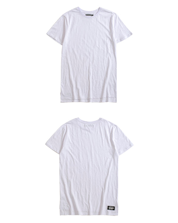 UT051WH | BASIC LONG TEE-TEE-UNTOUCHED UNITED