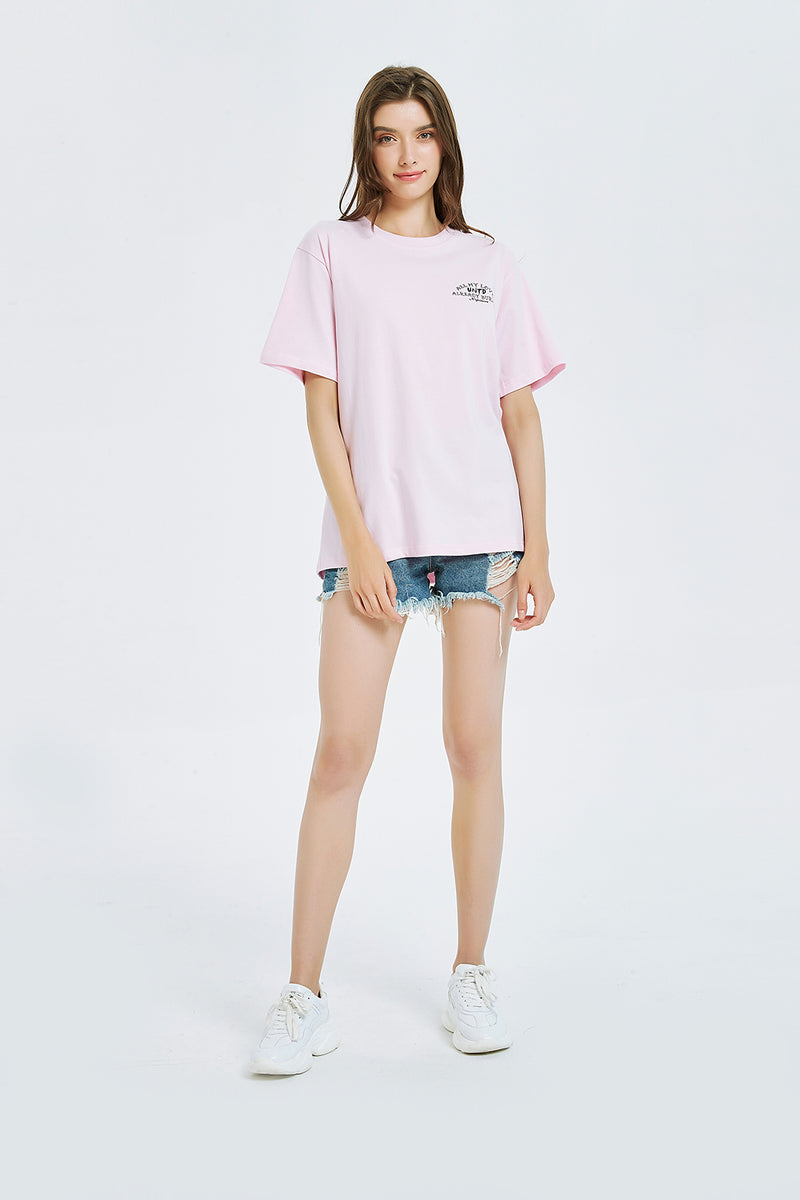 T1906PK | ROSE-TEE-UNTOUCHED UNITED