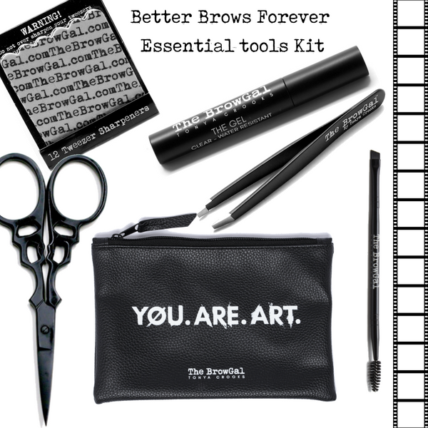 DIY Better Brows Forever - essential tool kit