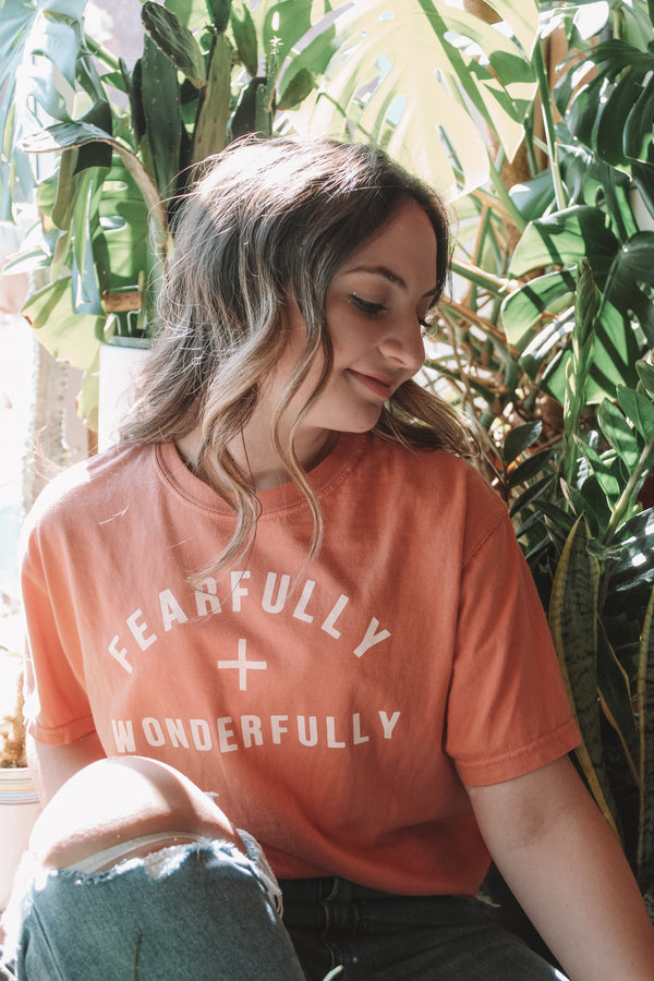 Fearfully + Wonderfully Comfort Colors Tee