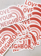 Love Your Neighbor Decal (20 pack)