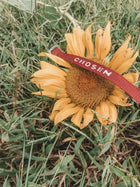 CHOSEN Old School Bracelet - burgundy