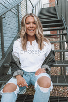 CHOSEN Distressed Basic Soft Tee