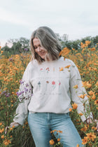 Wildflower Signature Dad Crewneck Sweatshirt