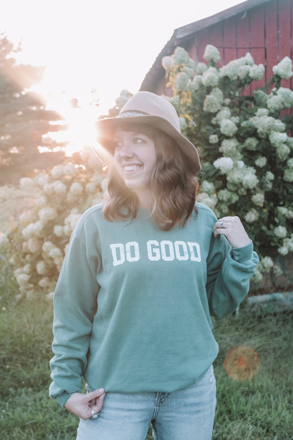 Do Good Crewneck Fleece