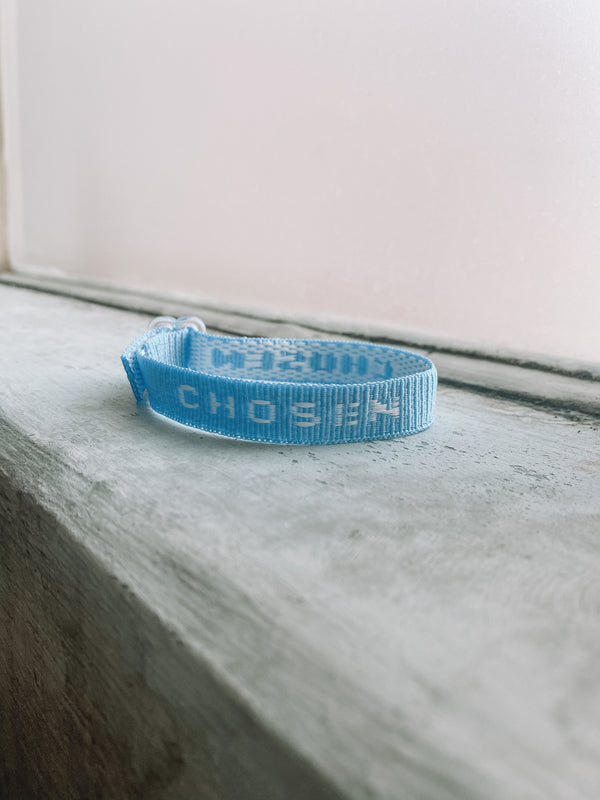 CHOSEN Old School Bracelet -Teal