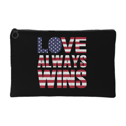 Love Always Wins - Accessory Pouch
