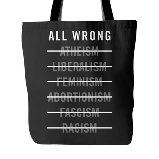 The Radicals - All Wrong - Tote Bag