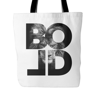 Bold As A Lion -Tote Bag