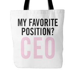 Nicole Arbour - Position - Tote Bag
